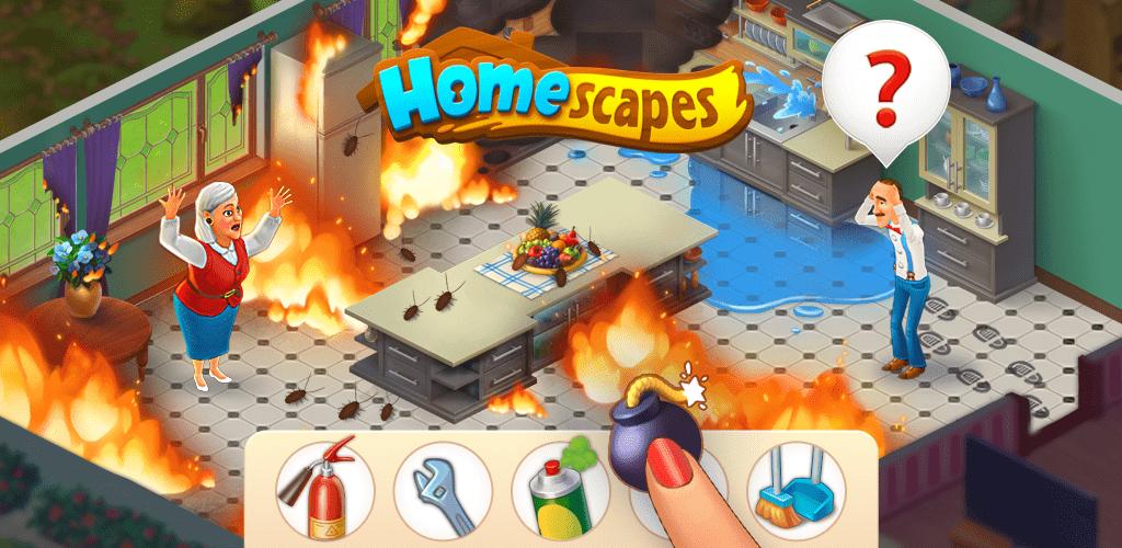 Homescapes Mod Apk atualizado