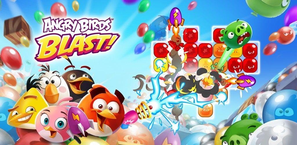 Angry Birds Dream Blast 2.1.1 Mod Apk Dinheiro Infinito
