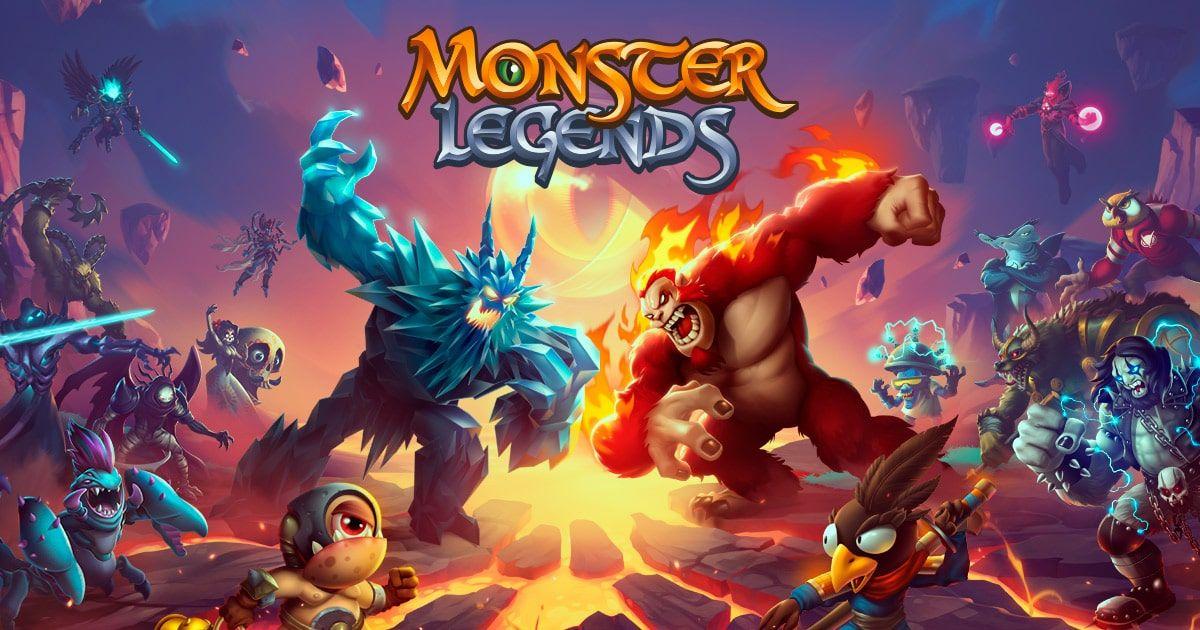 Monster Legends v9.5.1 Mod Apk Vitória Com 3 Estrelas