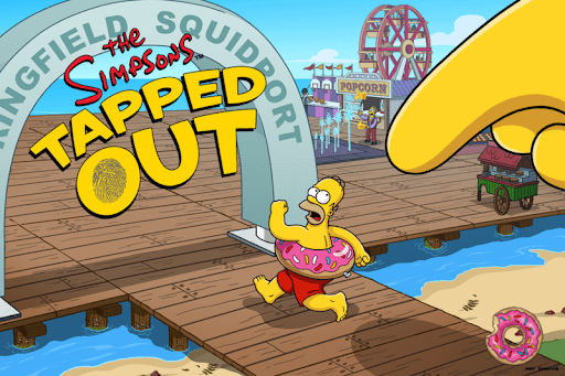the simpsons tapped out mod apk atualizado