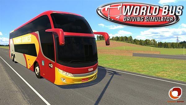 World Bus Driving Simulator Mod Apk atualizado