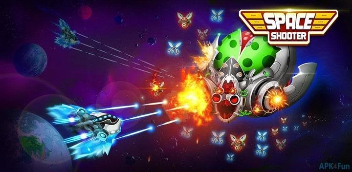 Space Shooter: Galaxy Attack v1.476 Mod Apk Dinheiro Infinito