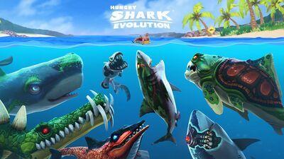 Hungry Shark Evolution v 7.7.0 Apk Mod Dinheiro Infinito