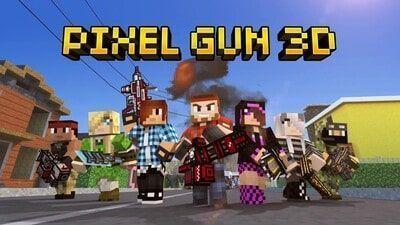 Pixel Gun 3D Apk Mod atualizado