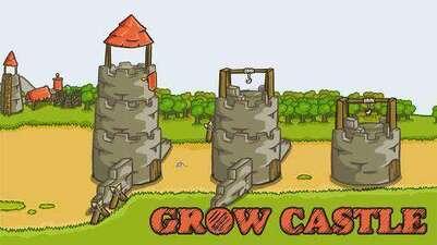 Grow Castle v 1.31.7 Mod Apk Dinheiro Infinito