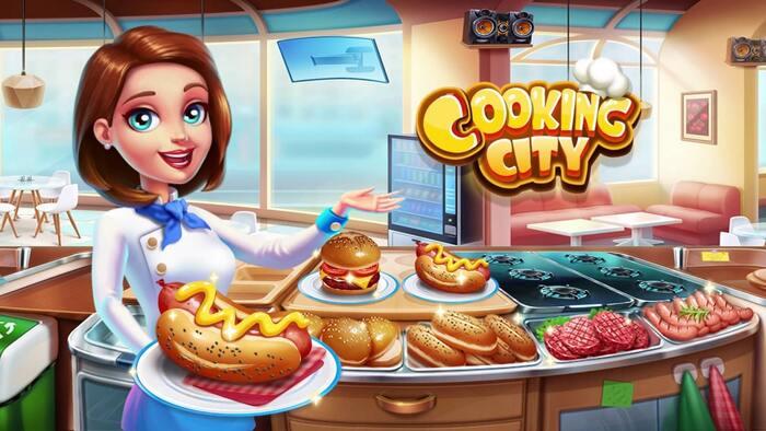 Cooking City v1.91.5035 Apk Mod Dinheiro Infinito