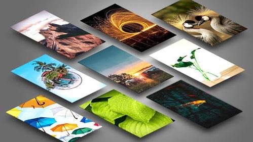 4D Parallax Background 4K Download